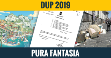 Documento Unico Programmatico 2019: pura fantasia